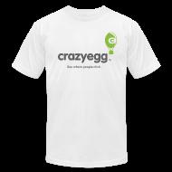 T-Shirts ~ Men's T-Shirt by American Apparel ~ crazyegg - Mens