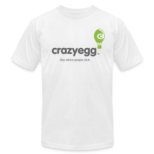 crazyegg - Mens - Men's T-Shirt by American Apparel