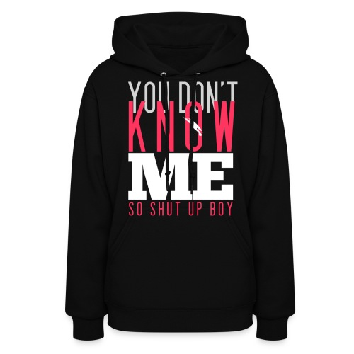 [MISSA] You Don't Know Me - Women's Hoodie