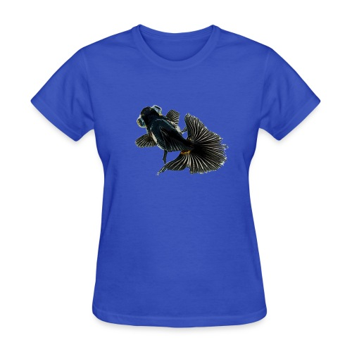 bug-eyed goldfish - Women's T-Shirt