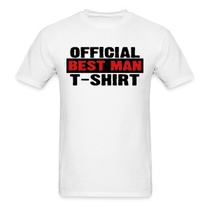 Official Best Man T-Shirt - Men's T-Shirt