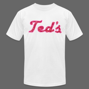 Ted's Woodward Men's American Apparel T-Shirt - Men's T-Shirt by American Apparel
