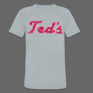 Ted's Woodward Men's American Apparel Tri-Blend Vintage T-Shirt - Unisex Tri-Blend T-Shirt by American Apparel