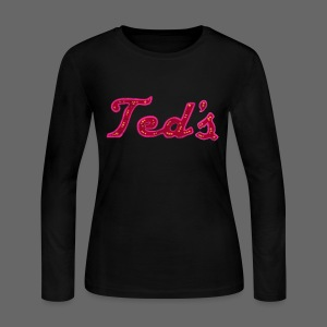 Ted's Woodward Women's Long Sleeve Jersey T-Shirt - Women's Long Sleeve Jersey T-Shirt