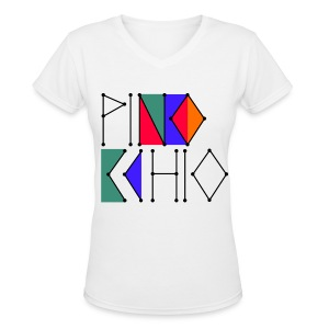 [f(x)] Pinocchio - Women's V-Neck T-Shirt