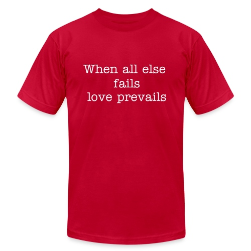 Love counts for all - Men's Fine Jersey T-Shirt