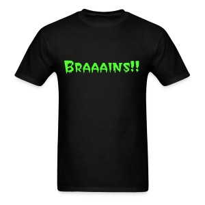 Brains - Men's T-Shirt