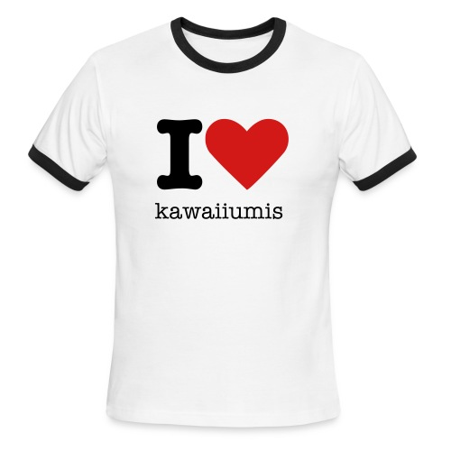 I love kawaiiumis - Men's Ringer T-Shirt