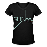 Women's T-Shirts ~ Women's V-Neck T-Shirt ~ [SHINee] 1st Mini