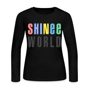 [SHINEE] SW Concert - Women's Long Sleeve Jersey T-Shirt