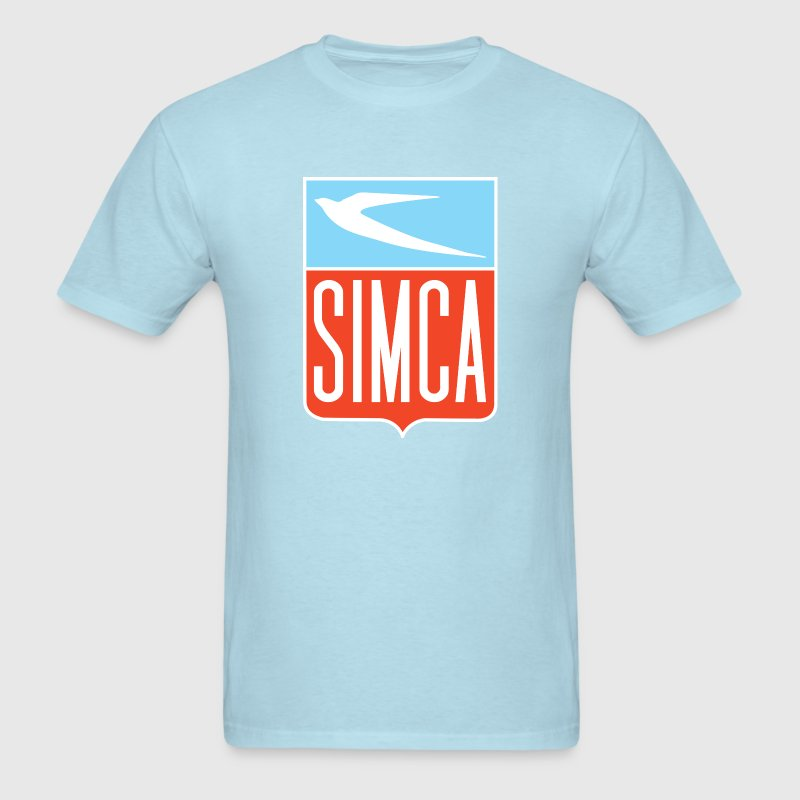 Simca new bird emblem - Men's T-Shirt