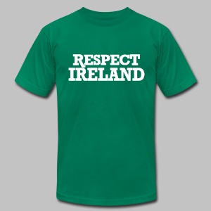 Respect Ireland - Men's T-Shirt by American Apparel