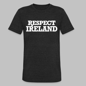 Respect Ireland - Unisex Tri-Blend T-Shirt by American Apparel