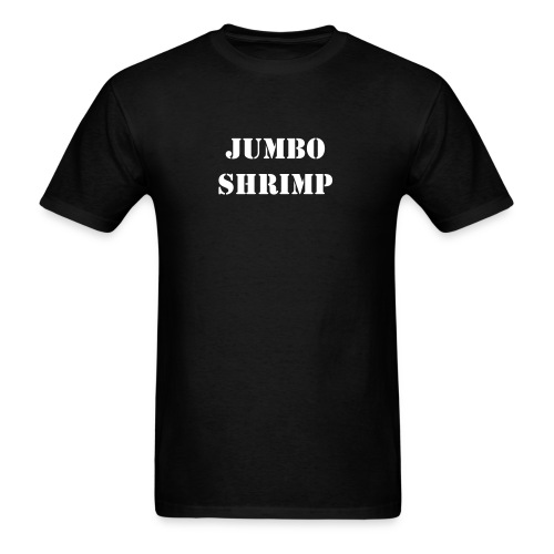 Jumbo Shrimp - Men's T-Shirt