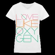 T-Shirts ~ Women's V-Neck T-Shirt ~ [SHINee] Love Like Oxygen