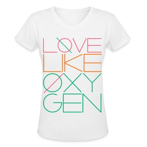 [SHINee] Love Like Oxygen - Women's V-Neck T-Shirt