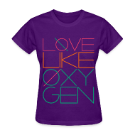 Women's T-Shirts ~ Women's T-Shirt ~ [SHINee] Love Like Oxygen