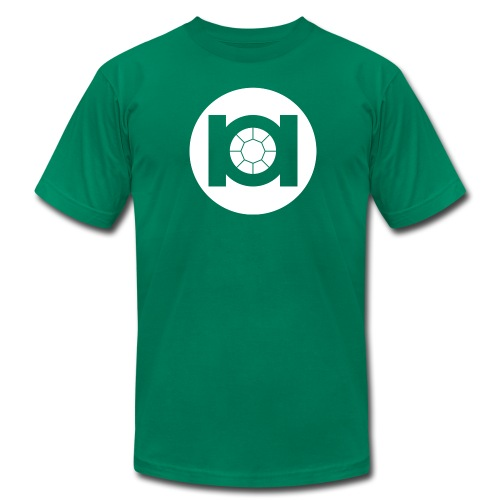 Green Tie - Men's Fine Jersey T-Shirt