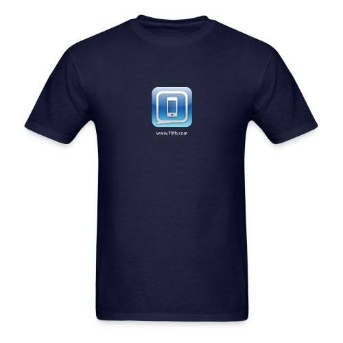 TiPb Men's Standard Weight T-shirt_White Text - Men's T-Shirt