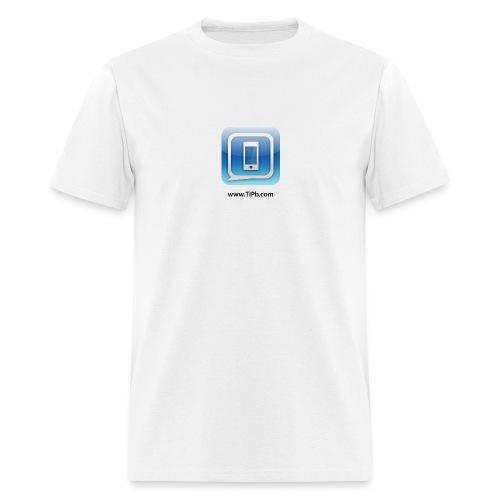 TiPb Men's Standard Weight T-shirt_Black Text - Men's T-Shirt