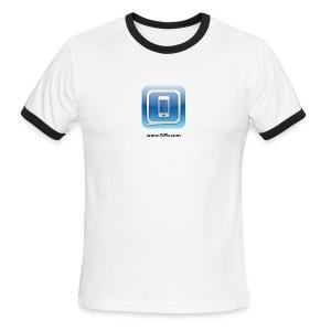 TiPb Men's Ringer T-shirt_Black Text - Men's Ringer T-Shirt