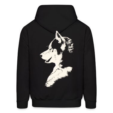 Men''s Husky Hoodie Siberian Husky Shirts Sled Dog Sweatshirt