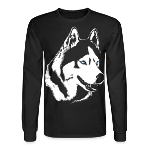 Husky T-shirt Siberian Husky Shirts & Gifts - Men's Long Sleeve T-Shirt