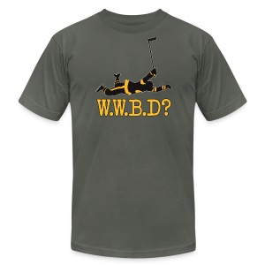 W.W.B.D? - Men's T-Shirt by American Apparel