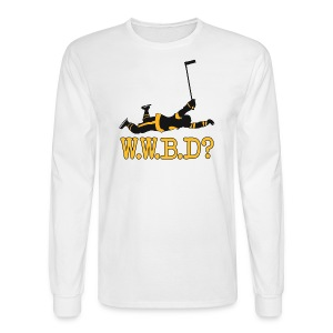 W.W.B.D? - Men's Long Sleeve T-Shirt