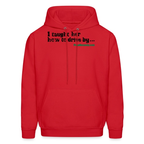 Hoodie I taught her to drive - Men's Hoodie