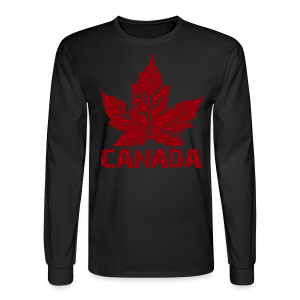 Men's Cool Canada Shirt Vintage Canada Souvenir Shirts - Men's Long Sleeve T-Shirt