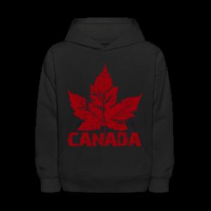 Cool Canada Souvenir Shirt Kid's CanadaHoodie Sweatshirt Distressed - Kids' Hoodie