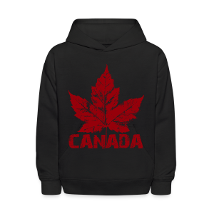 Cool Canada Souvenir Shirt Kid's CanadaHoodie Sweatshirt Distressed - Kids' Hoodie