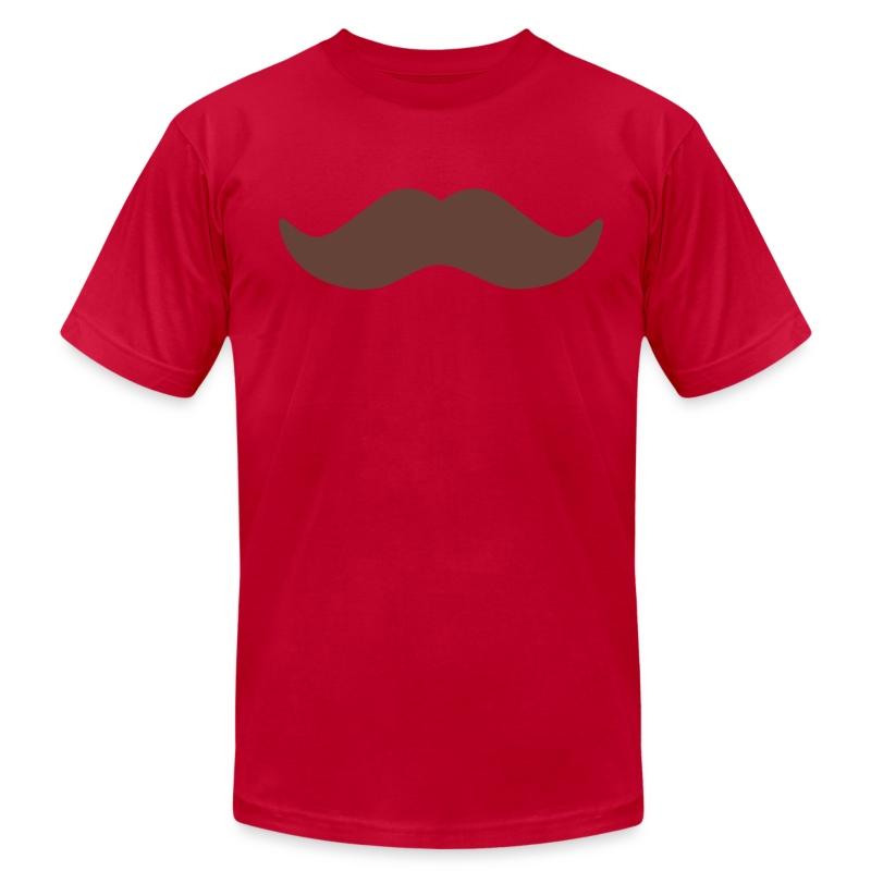 Moustache - Men's Fine Jersey T-Shirt