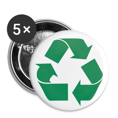 go green buttons - Large Buttons