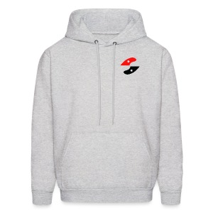 GS fin on front simple - Men's Hoodie