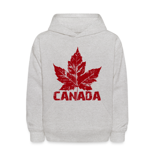 Cool Canada Souvenir Shirt Kid's Canada Hoodie Sweatshirt Distressed - Kids' Hoodie