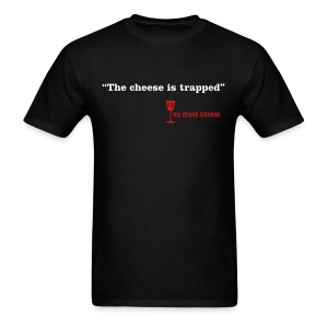 The Cheese is Trapped - Dark - Men's T-Shirt