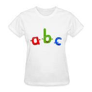 T-Shirts ~ Women's T-Shirt ~ ABC T-Shirt