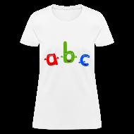 T-Shirts ~ Women's T-Shirt ~ ABC T-Shirt