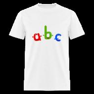 T-Shirts ~ Men's T-Shirt ~ ABC T-Shirt