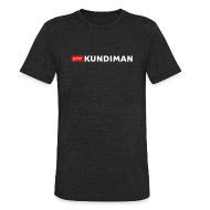 T-Shirts ~ Unisex Tri-Blend T-Shirt ~ Kundiman Logo - American Apparel Men's  Black T-Shirt