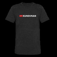 T-Shirts ~ Unisex Tri-Blend T-Shirt ~ Kundiman Logo - American Apparel Men's  Black T-Shirt