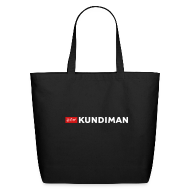 Bags & backpacks ~ Eco-Friendly Cotton Tote ~ Kundiman Logo - Large Tote, White Logo