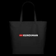 Bags & backpacks ~ Eco-Friendly Cotton Tote ~ Kundiman Logo - Large Tote, White Logo