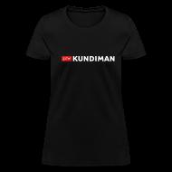 T-Shirts ~ Women's T-Shirt ~ Kundiman Logo - Women's T-Shirt, White Logo