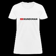 Women's T-Shirts ~ Women's T-Shirt ~ Kundiman Logo - Women's T-Shirt, Black Logo