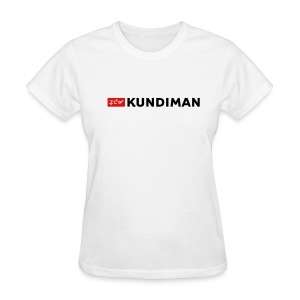 Kundiman Logo - Women's T-Shirt, Black Logo - Women's T-Shirt