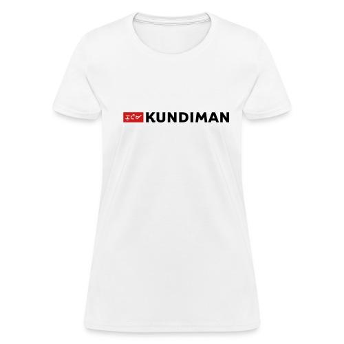 Kundiman Logo - Women's T-Shirt, Black Logo - Women's T-Shirt