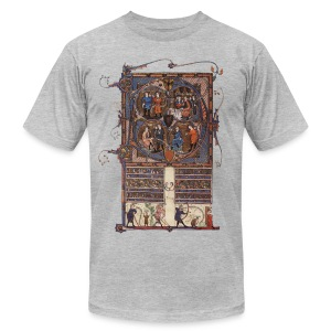 Tickhill Psalter, 14th Century - Men's T-Shirt by American Apparel